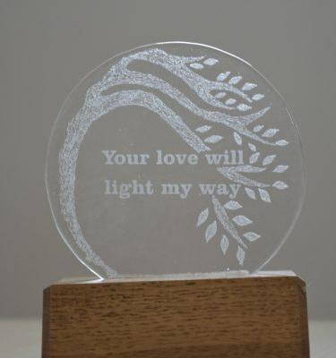 Memory glass without ash from With Love & Light